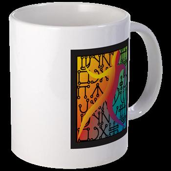 Tiferet Man Logo Mug