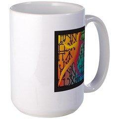 Tiferet Man Logo Mug Large