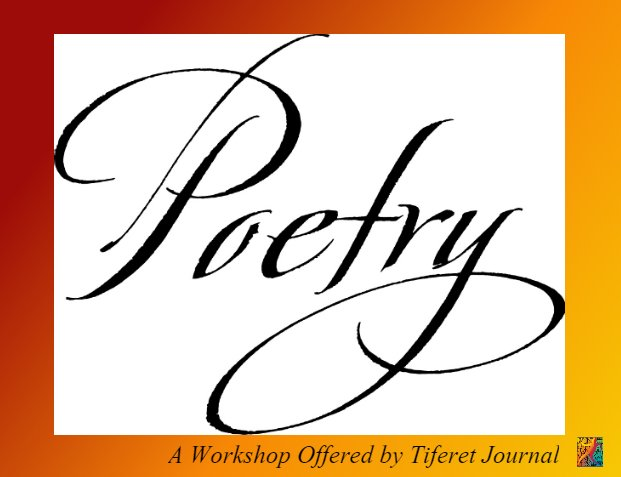 Tiferet Poetry Workshop graphic