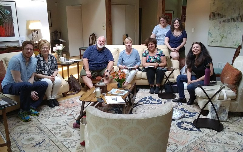 Prose Poems Workshop attendees June 1 2019