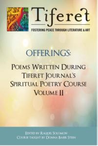 spiritual poetry chapbook cover